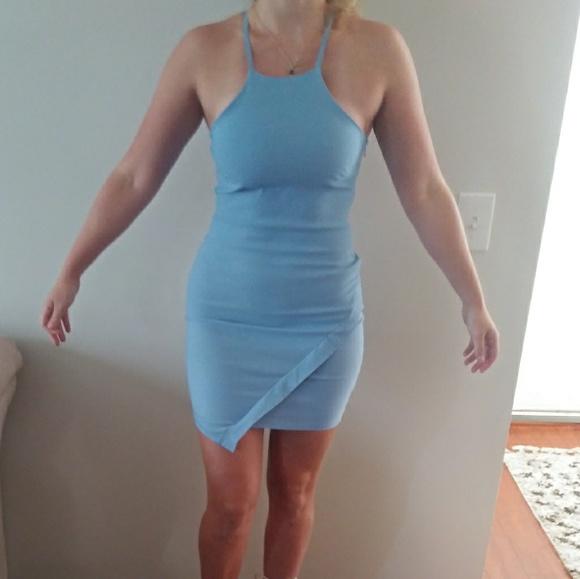 The Vintage Shop Dresses & Skirts - The Vintage Shop Powder Blue Dress